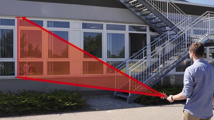 télémètre laser TE LD 60 Einhell